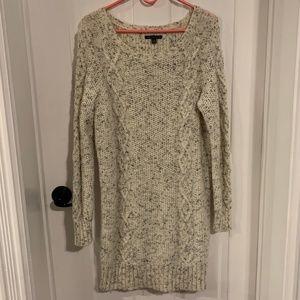 EUC American Eagle Cream Sweater Dress/Tunic
